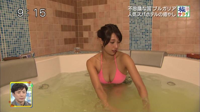 【温泉キャプ画像】温泉レポートで半乳晒してる女達って露出癖があるのか?ww 03