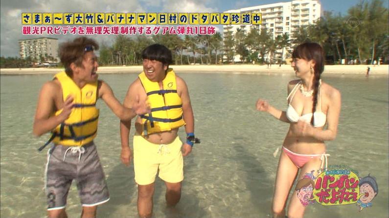【水着キャプ画像】この夏もそろそろ終わるし水着美女も見納めかな?この夏テレビに映った水着美女達w 15