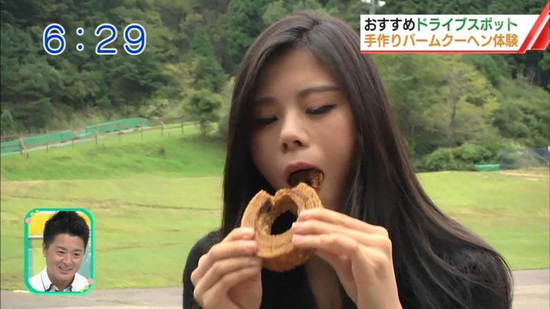 【擬似フェラキャプ画像】エロい顔して食べた子一等賞!今回のフェラ顔クイーンは?ww 19