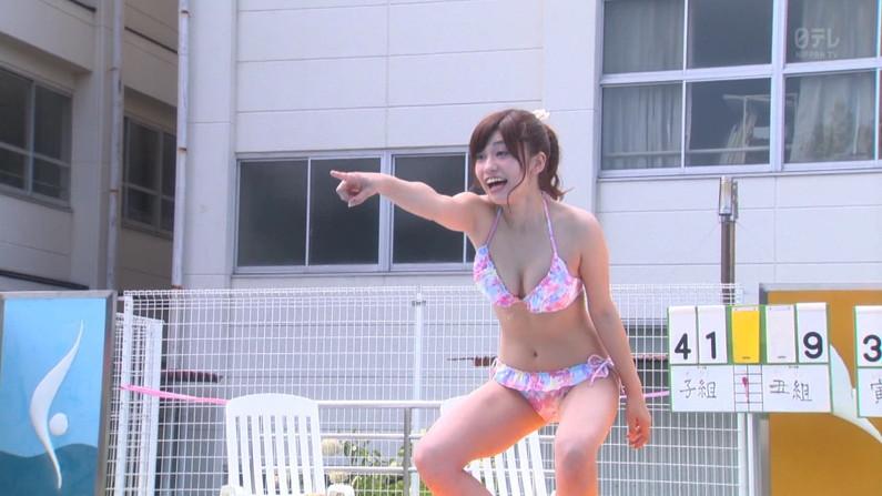 【水着キャプ画像】夏は過ぎてもやっぱり水着美女は見たい!そしてその巨乳を拝みたいんだww 09