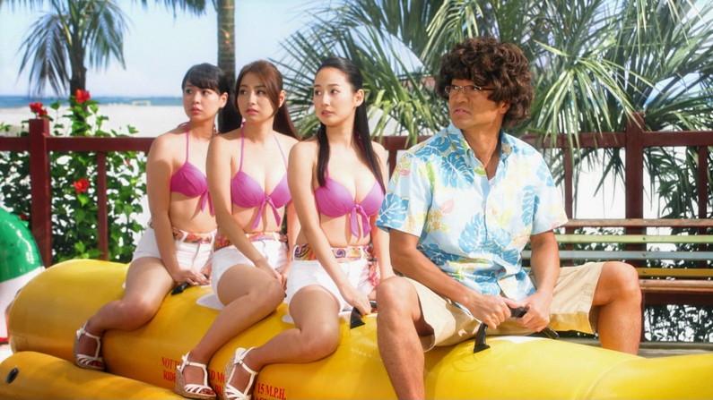 【水着キャプ画像】夏は過ぎてもやっぱり水着美女は見たい!そしてその巨乳を拝みたいんだww 14