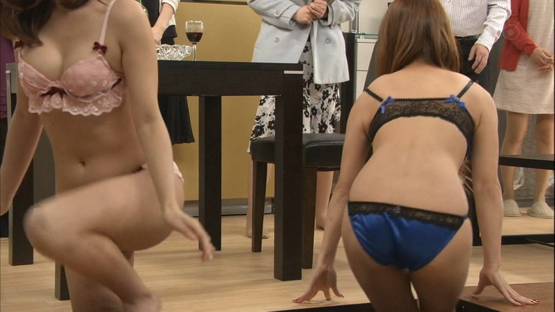 【下着キャプ画像】タレント達が下着姿でテレビに出た結果wwエロすぎだろw 08