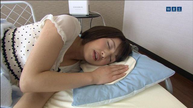 【寝顔キャプ画像】こんな可愛い寝顔した美女が隣にで寝てくれてたら癒されるだろうなぁw 17
