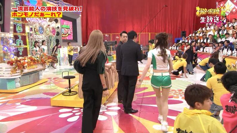 【お尻キャプ画像】ピタパン履いたタレント達がテレビでエロいお尻強調し過ぎww 11