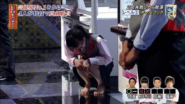 【パンチラキャプ画像】やっぱりテレビ見てて一番見たい放送事故ってパンチラだよなww 09