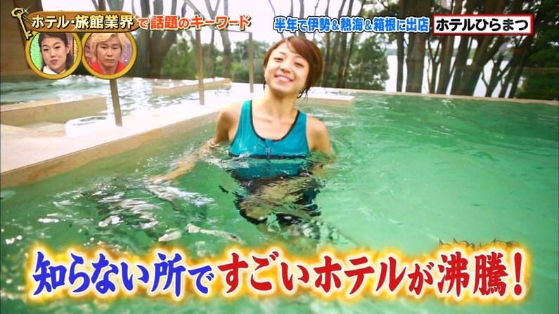 【温泉キャプ画像】美女の際どい所までみえちゃう温泉ロケがエロすぎてたまらんww 22