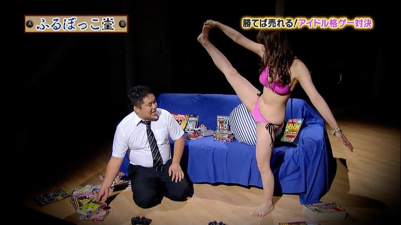 【開脚キャプ画像】テレビなのにおマンコクパーして股間アップで撮られちゃってるよww 12
