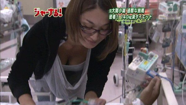 【放送事故画像】テレビでオッパイぷら~んwww 08