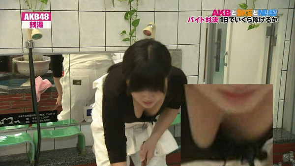 【放送事故画像】テレビでオッパイぷら~んwww 18