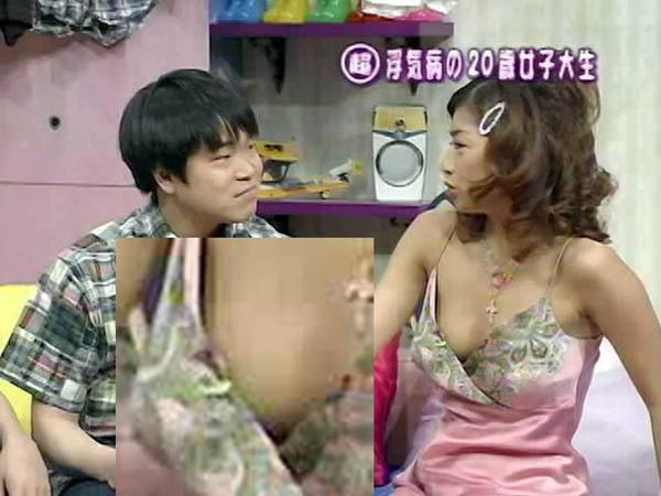 【放送事故画像】テレビに映ったエロいオッパイ見たくないか? 12