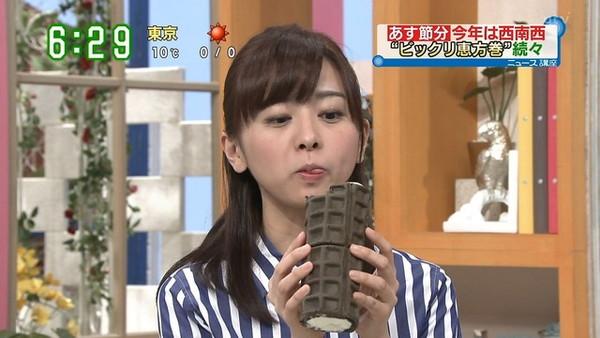 【放送事故画像】テレビで大口開けてやらしく食べてるその表情に勃起しましたww 11