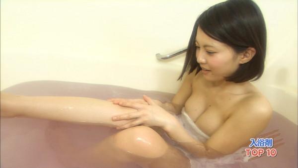 【放送事故画像】入浴シーンに映る美女達と俺も一緒にお風呂に入りたいww 03