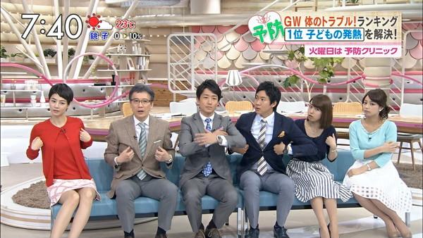 【放送事故画像】テレビ見てたら思わず目を細めて凝視してしまうスカートの中ww 15