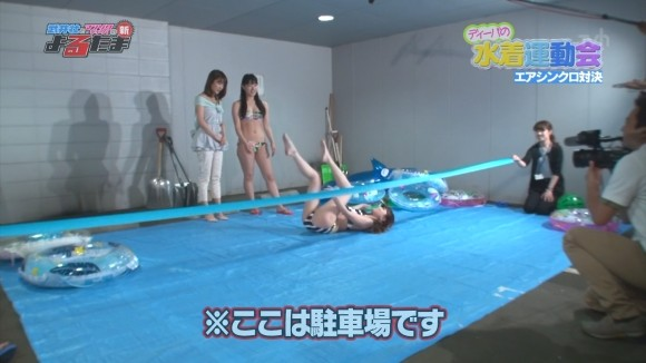 【放送事故画像】テレビでこんなエロい企画されたら勃起がおさまらんよww 01