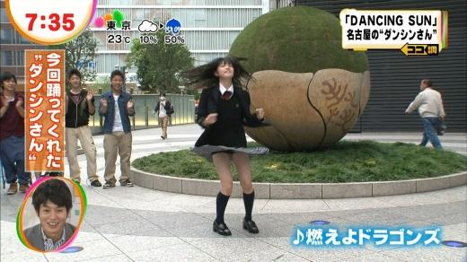 【放送事故画像】テレビに出れるからって喜ぶな素人よ!お前達を見てる目はみんなエロいんだww 15