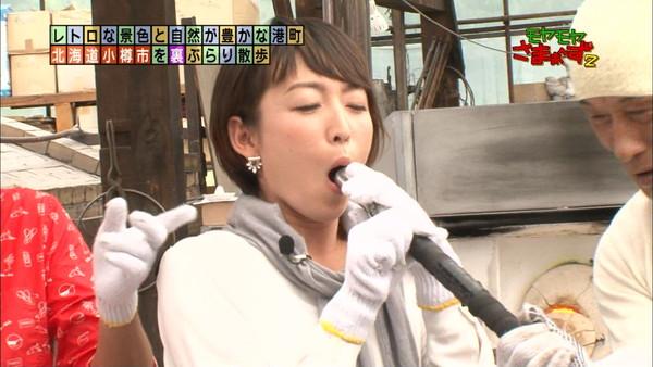 【放送事故画像】テレビで食レポしてるだけなのにエロスを感じるってどぉゆうこと?www 13