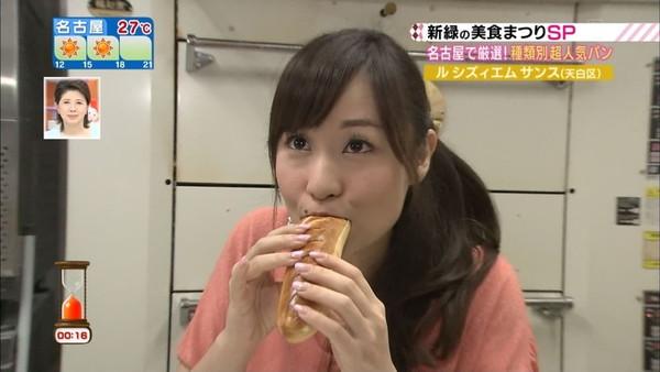 【放送事故画像】テレビで食レポしてるだけなのにエロスを感じるってどぉゆうこと?www 16