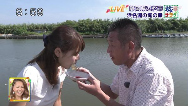 【放送事故画像】テレビで食レポしてるだけなのにエロスを感じるってどぉゆうこと?www 17