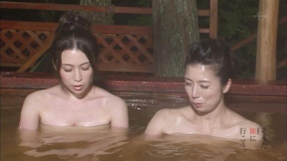 【放送事故画像】入浴シーンって一歩間違えたらマン毛まで見えそうになるよなwww 05