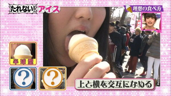 【放送事故画像】こんな食べ方してたら卑猥なこと妄想してもいいよなwww 12