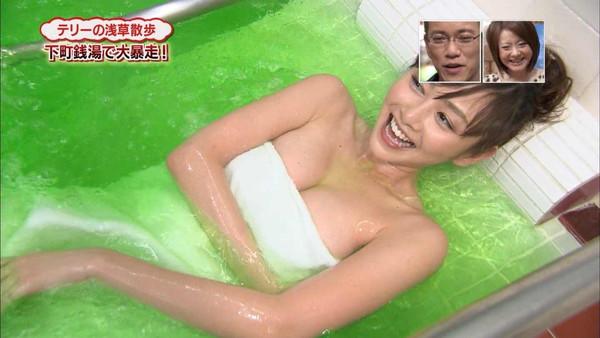 【放送事故画像】すべすべお肌の入浴キャプ画像w女の子とお風呂入りたーいw 17