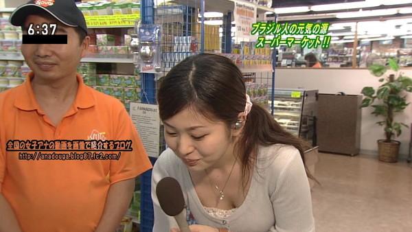 【放送事故画像】テレビで映った推定Dカップ以上のオッパイを集めてみましたwww 03