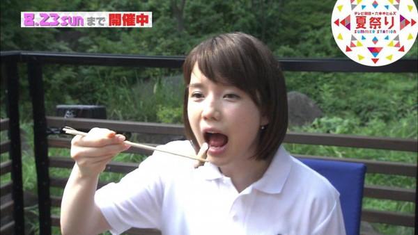 【放送事故画像】食レポなんだけどどぉしてもフェラ顔にしか見えない疑似フェラ画像ww 18