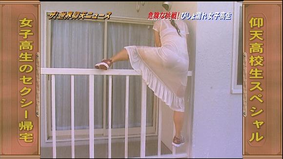 【放送事故画像】テレビでうっすら下着透けさして見せてる女達www