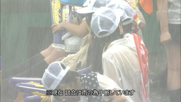 【放送事故画像】テレビでうっすら下着透けさして見せてる女達www 06