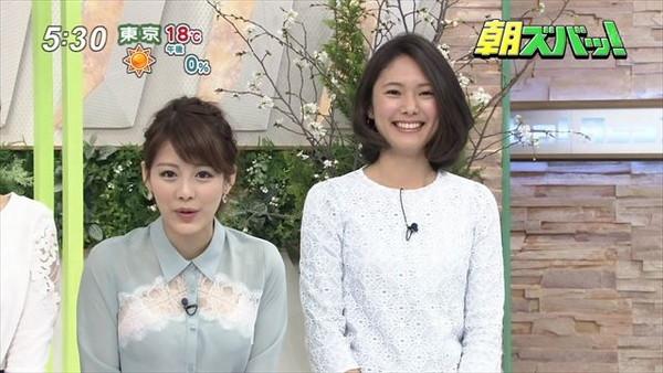 【放送事故画像】テレビでうっすら下着透けさして見せてる女達www 12