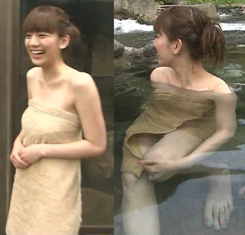 【放送事故画像】テレビでしか見れない女性の入浴姿がこちらwww 07