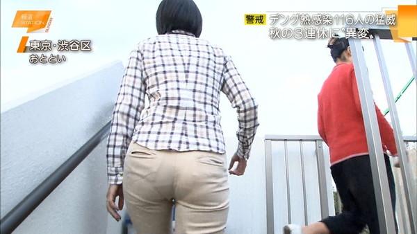 【放送事故画像】こんなお尻見せられたらあなたならどぉしますか? 10