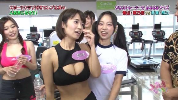 【放送事故画像】テレビに映る窮屈そうなオッパイをこの手で開放してあげたいwww 06