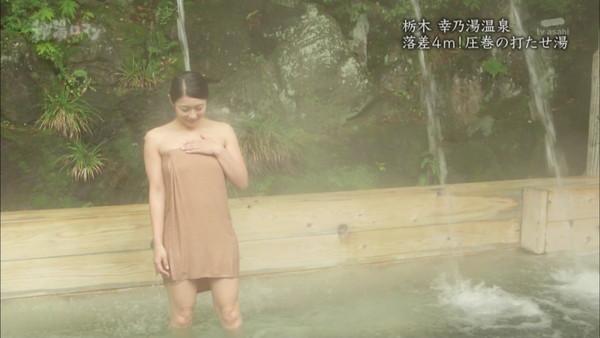 【放送事故画像】大きなオッパイと綺麗なお肌!入浴シーン最高www 19