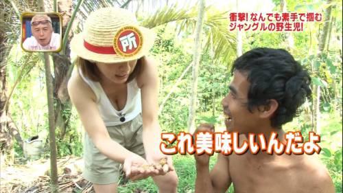 【放送事故画像】オッパイの谷間は見せる物じゃなくチンコを挟むためにあるものだろww 01