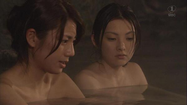 【放送事故画像】温かお風呂に大きなオッパイw是非混浴してみたいww 04