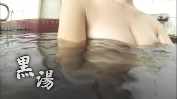 【放送事故画像】温かお風呂に大きなオッパイw是非混浴してみたいww 19