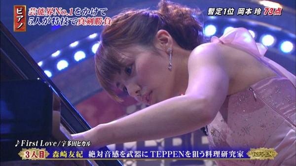 【放送事故画像】じんわり染みになっちゃった脇の汗がテレビに映っちゃった女性達www