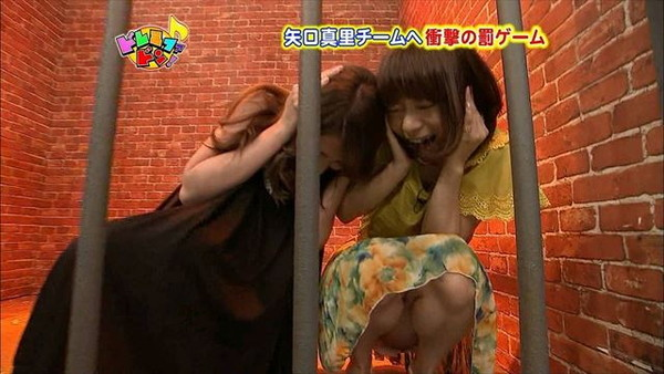【放送事故画像】パンチラ&ローライズ&パンツ全開wテレビに映る色んなパンツww 04