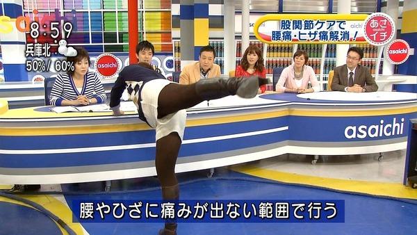 【放送事故画像】テレビで大開脚!あわやマンちらか!?www 11