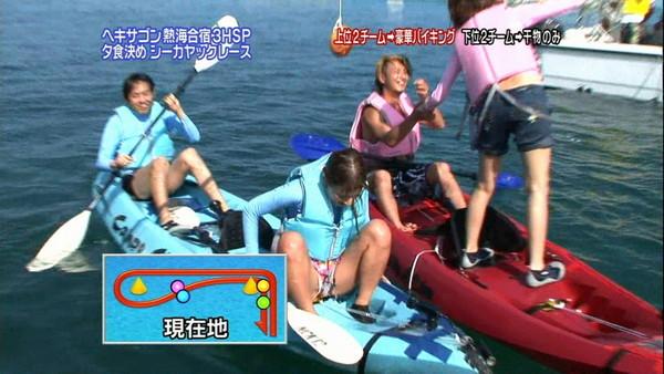 【放送事故画像】テレビで大開脚!あわやマンちらか!?www 13