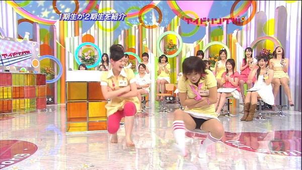 【放送事故画像】テレビで大開脚!あわやマンちらか!?www 14