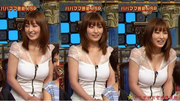 【放送事故画像】テレビに映ったオッパイを好きにしていいって言われたらどぉする?ww 08