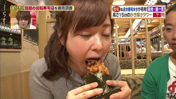 【放送事故画像】エロい顔しながらフェラ好きそうな食べ方してる疑似フェラ画像だよwww 06