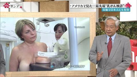 【放送事故画像】素人もアイドルもオッパイでかけりゃテレビに映れるってか?www 23