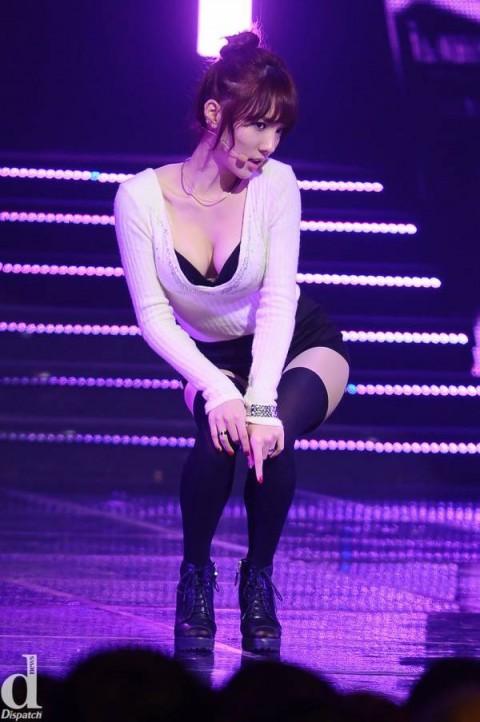 【アイドルお宝画像】韓国のアイドルがこんなにエロいならもはや整形だろうがなんでもいぃwww 13