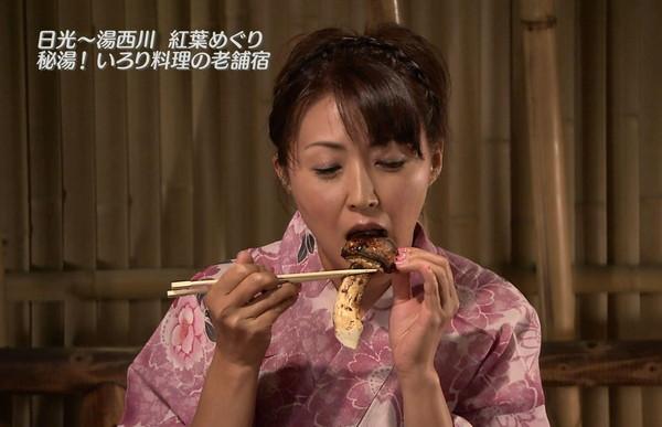 【放送事故画像】その顔、食べ方、物凄く卑猥ですよw何考えてるんですかww 15