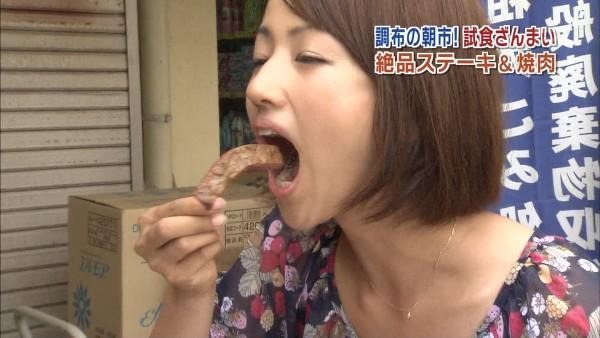 【放送事故画像】その顔、食べ方、物凄く卑猥ですよw何考えてるんですかww 19