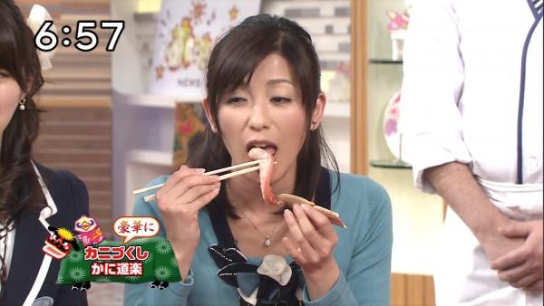 【放送事故画像】その顔、食べ方、物凄く卑猥ですよw何考えてるんですかww 20