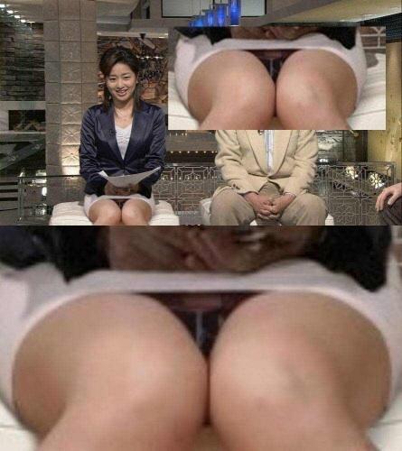 【放送事故画像】女子アナのパンチラや胸ちら総集編wエロすぎですwww 02